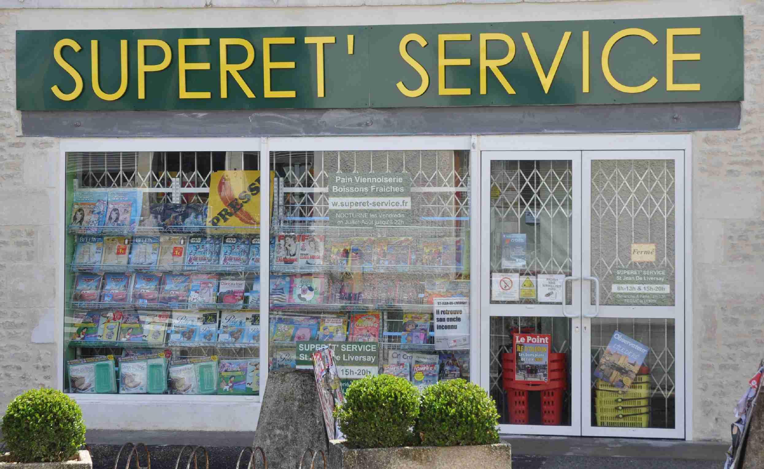 Superet service saint jean de liversay superette tabac